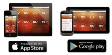 Heatmiser Ipad,Iphone,Android,internet browser