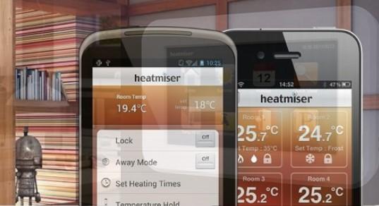 Heatmiser Temperature Control