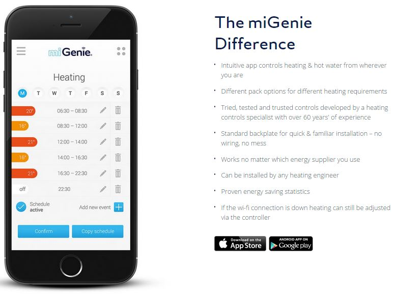 miGenie, app store, Google play