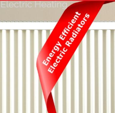 High Efficency Elctric Radiators